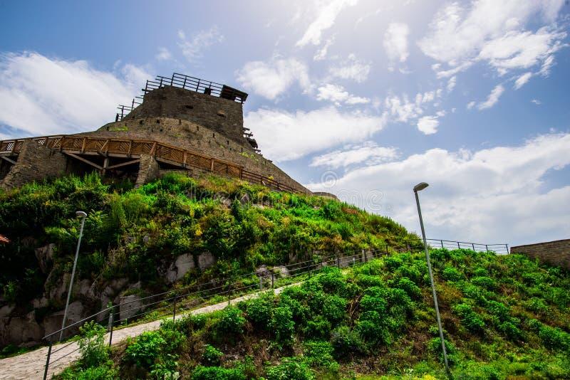 Ακρόπολη Deva στοκ εικόνα με δικαίωμα ελεύθερης χρήσης