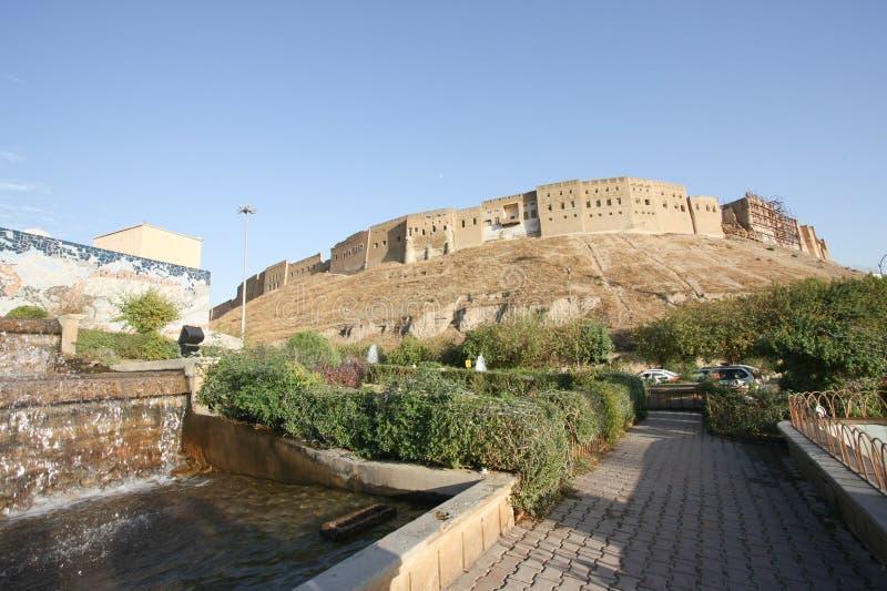 Ακρόπολη Erbil, πόλη Erbil, Ιράκ στοκ εικόνα με δικαίωμα ελεύθερης χρήσης