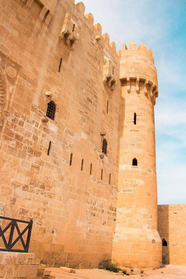 Ακρόπολη Qaitbay στοκ φωτογραφίες