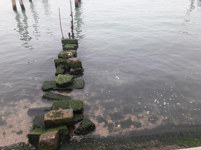 Ακτή βράχων στοκ εικόνα