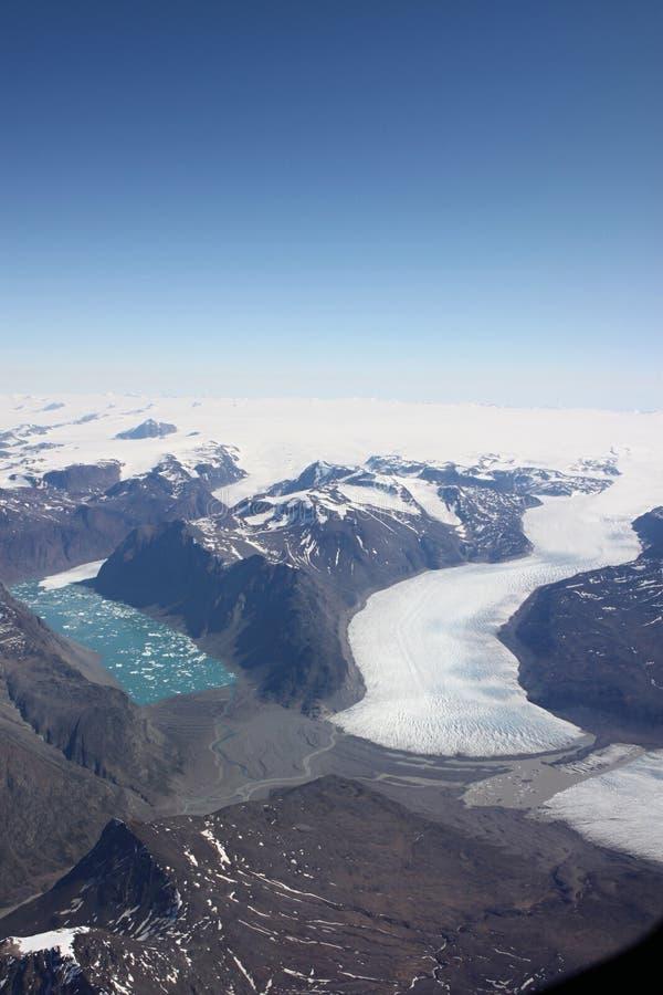 ακτή Γροιλανδία στοκ εικόνα
