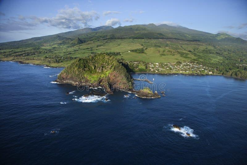 ακτή κάτοικος της Χαβάης στοκ εικόνες με δικαίωμα ελεύθερης χρήσης