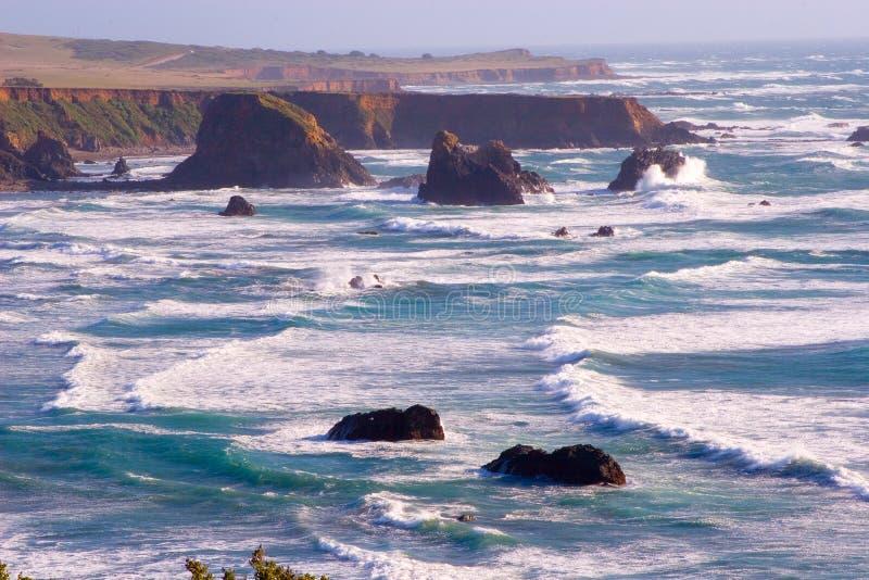ακτή Καλιφόρνιας φυσική στοκ φωτογραφίες