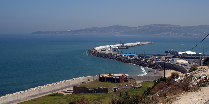 ακτή Μαρόκο στοκ φωτογραφία με δικαίωμα ελεύθερης χρήσης