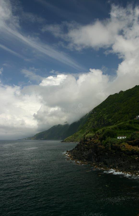 ακτή νησιών στοκ εικόνα με δικαίωμα ελεύθερης χρήσης