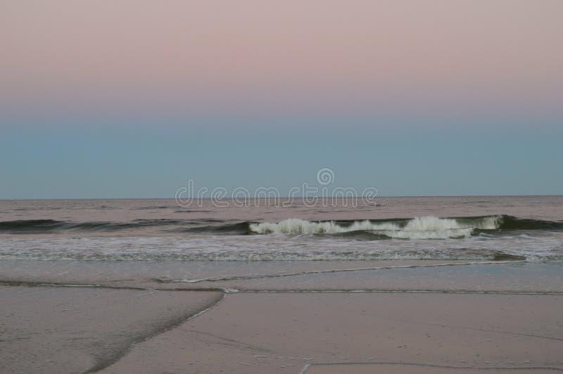 Ακτή παραλιών του Τζάκσονβιλ στοκ εικόνες