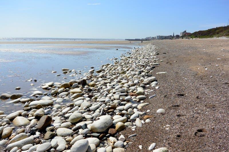 Ακτή σε Bridlington, ανατολικό Γιορκσάιρ στοκ εικόνα με δικαίωμα ελεύθερης χρήσης