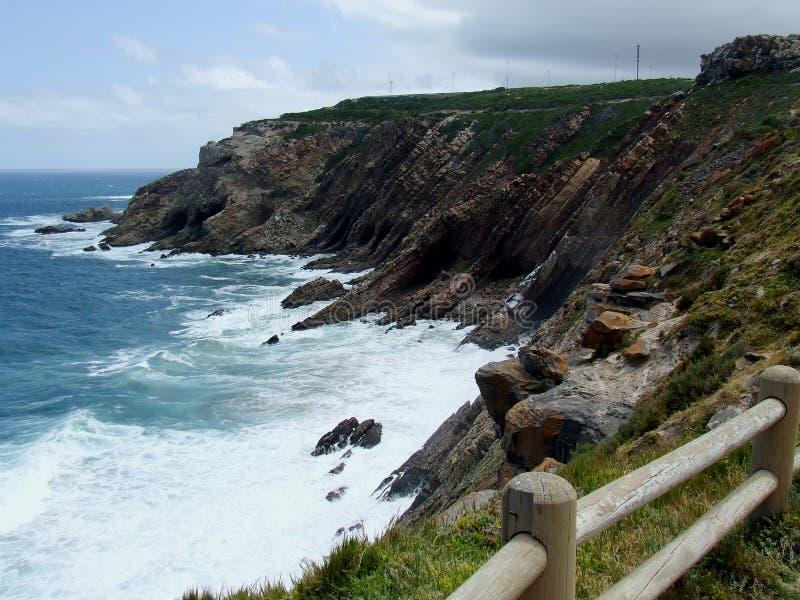 Ακτή σε Mosselbay Νότια Αφρική στοκ φωτογραφία με δικαίωμα ελεύθερης χρήσης