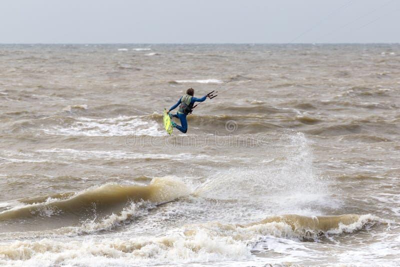 Ακτή σε Zandvoort στοκ εικόνες