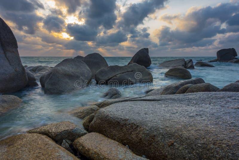Ακτή στην παραλία Lamai, Ko Samui στοκ εικόνα με δικαίωμα ελεύθερης χρήσης