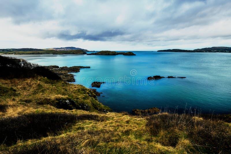 Ακτή στο Forest Park Ards Donegal Ιρλανδία κατά τη διάρκεια του χειμώνα στοκ φωτογραφίες με δικαίωμα ελεύθερης χρήσης