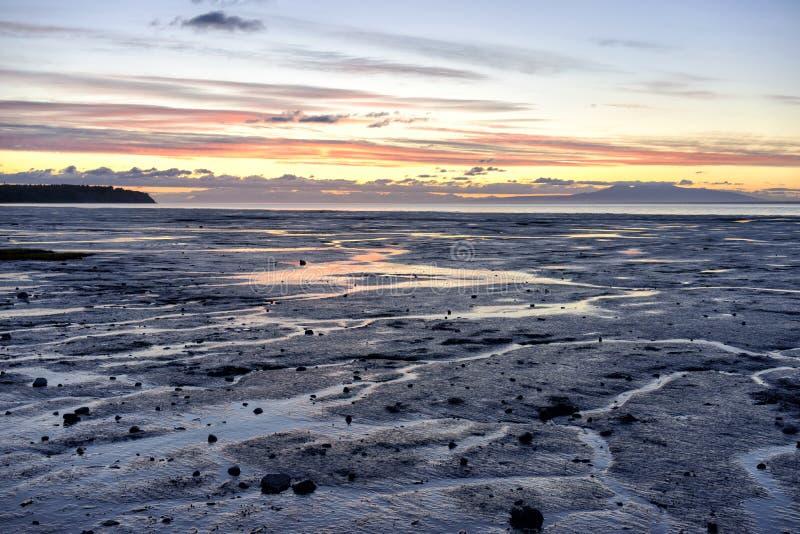 Ακτή της Αλάσκας στοκ εικόνες