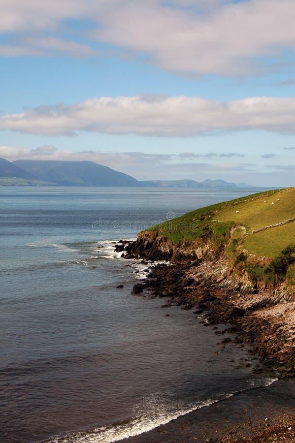 ακτή της Ιρλανδίας νότια στοκ φωτογραφία με δικαίωμα ελεύθερης χρήσης