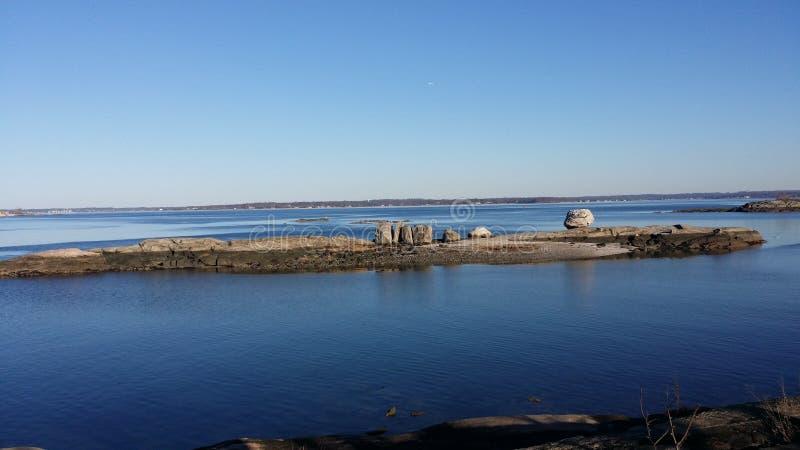 Ακτή της Νέας Αγγλίας Bronx στοκ φωτογραφία με δικαίωμα ελεύθερης χρήσης