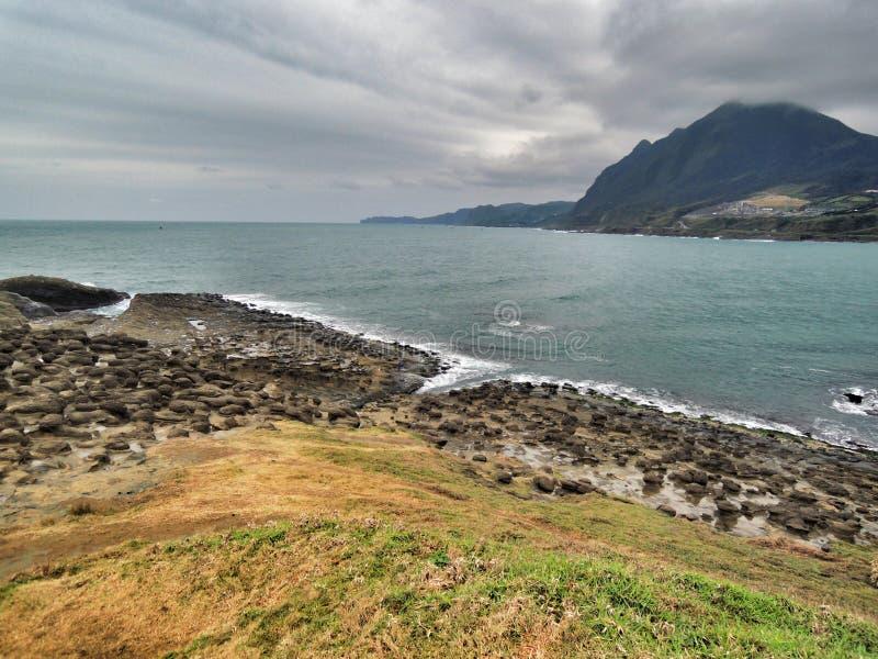 Ακτή της Ταϊβάν στοκ φωτογραφίες με δικαίωμα ελεύθερης χρήσης