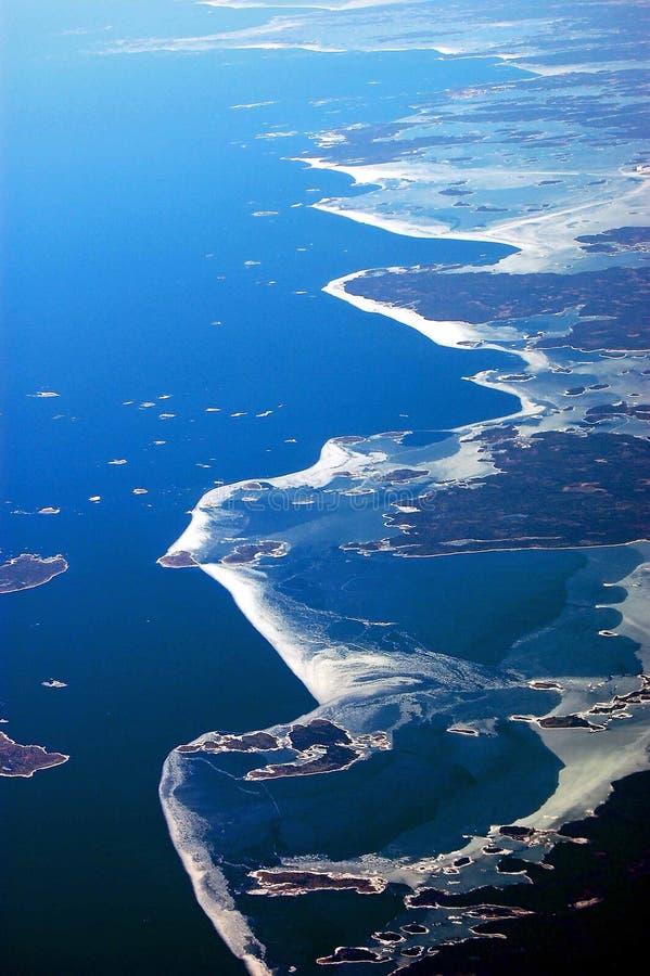 ακτή της Φινλανδίας στοκ φωτογραφία με δικαίωμα ελεύθερης χρήσης