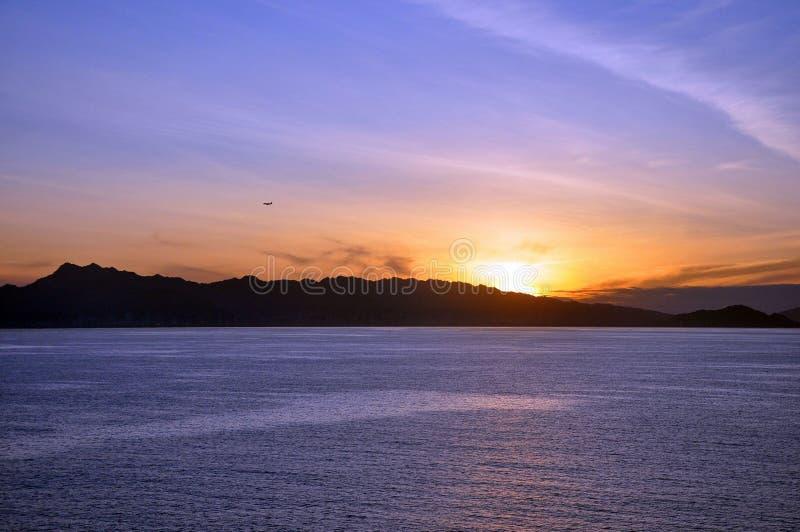 Ακτή της Χαβάης ανατολής στοκ φωτογραφία με δικαίωμα ελεύθερης χρήσης