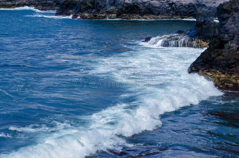 Ακτή του Ατλαντικού Ωκεανού στοκ φωτογραφίες με δικαίωμα ελεύθερης χρήσης