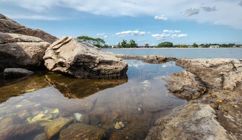 Ακτή του Κοννέκτικατ στοκ εικόνες
