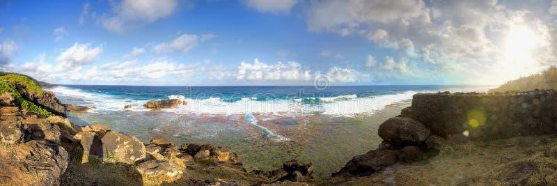 Ακτή του Μαυρίκιου στοκ εικόνες με δικαίωμα ελεύθερης χρήσης