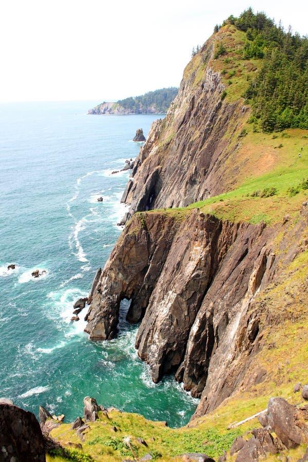 Ακτή του Όρεγκον στοκ εικόνες με δικαίωμα ελεύθερης χρήσης