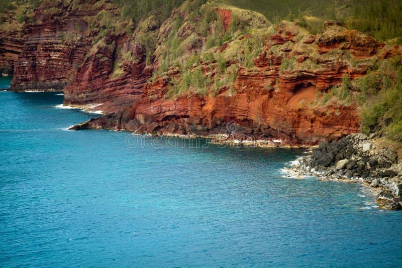 ακτή Χαβάη Maui στοκ εικόνα