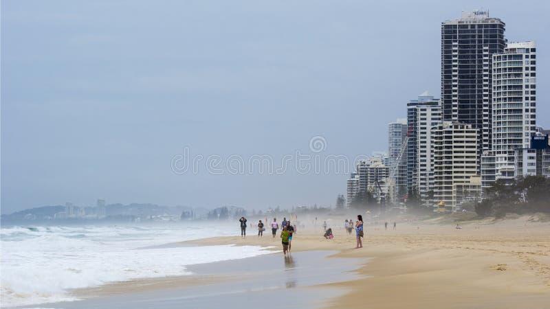 ακτή χρυσό Queensland της Αυστραλί&a στοκ φωτογραφία με δικαίωμα ελεύθερης χρήσης