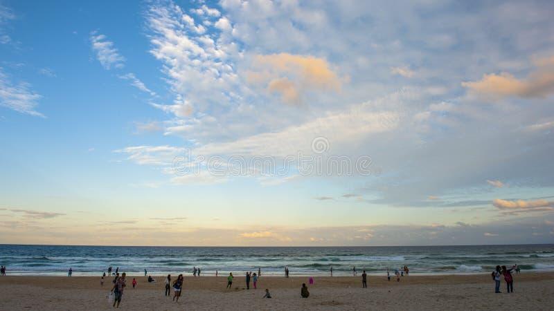 ακτή χρυσό Queensland της Αυστραλί&a στοκ εικόνες