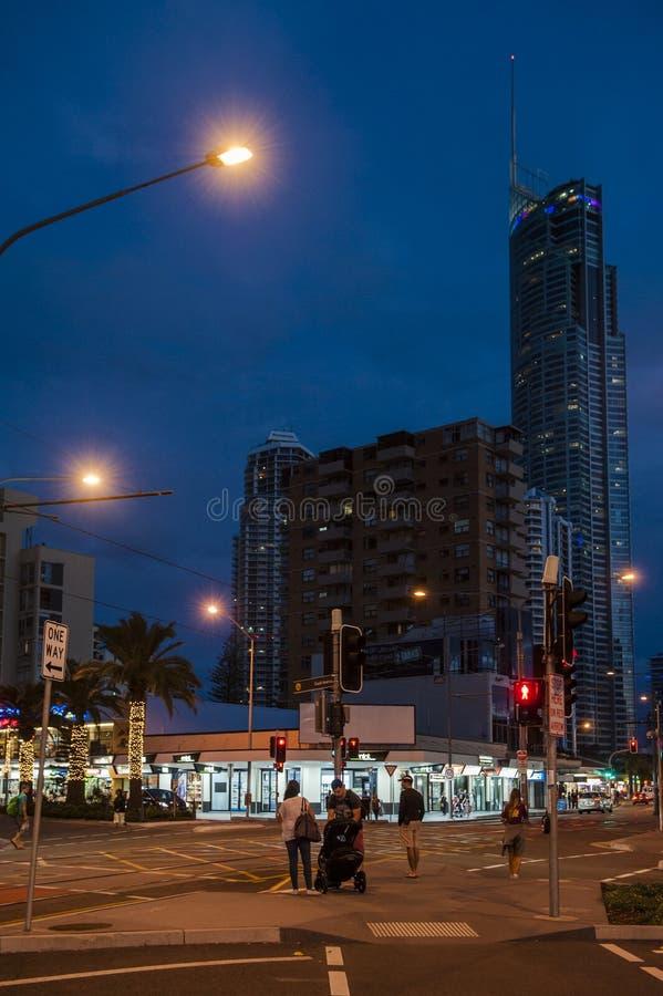 ακτή χρυσό Queensland της Αυστραλί&a στοκ εικόνα
