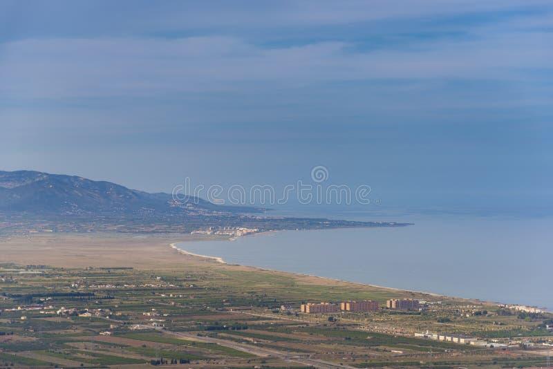 Ακτή Castellon, Ισπανία στοκ εικόνες