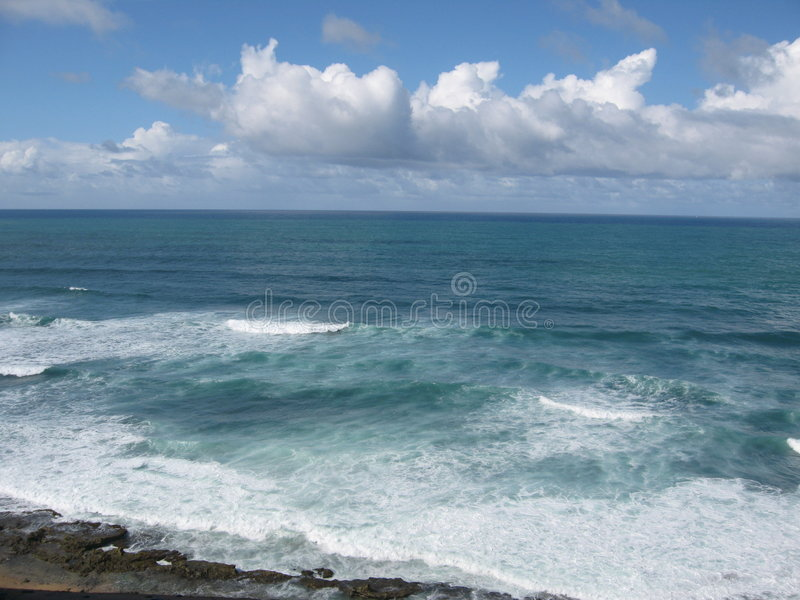 ακτή Juan SAN στοκ εικόνες με δικαίωμα ελεύθερης χρήσης