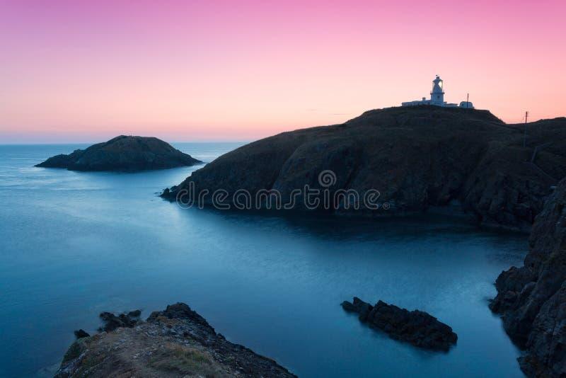 Ακτή Pembrokeshire, ζωηρόχρωμο τοπίο στοκ φωτογραφία με δικαίωμα ελεύθερης χρήσης