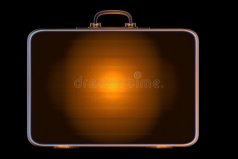 Ακτίνα X περίπτωσης τρισδιάστατος δώστε ελεύθερη απεικόνιση δικαιώματος
