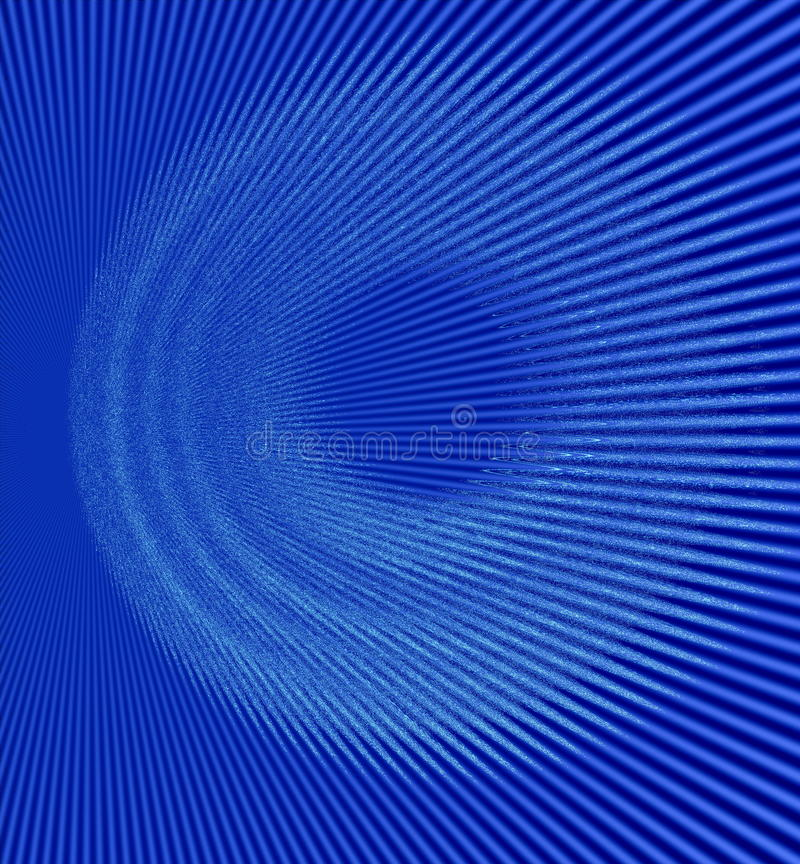 Ακτίνες στον αφηρημένο μπλε κόσμο διανυσματική απεικόνιση