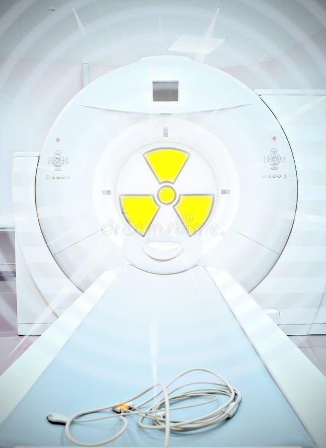 Ακτινοβολία στην ιατρική στοκ εικόνες