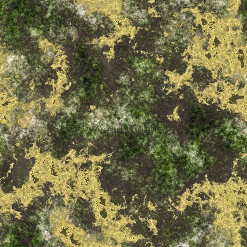 Ακτινοβολώντας χρυσά χοντρά κομμάτια μεταλλεύματος στο βράχο - άνευ ραφής στοκ φωτογραφία με δικαίωμα ελεύθερης χρήσης