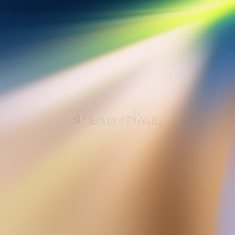 Ακτινωτές θολωμένες χρωματισμένες ακτίνες αφηρημένη ανασκόπηση ελεύθερη απεικόνιση δικαιώματος