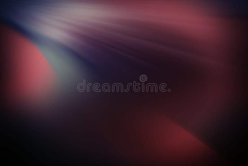 Ακτινωτές χρωματισμένες κυρτές γραμμές αφηρημένη ανασκόπηση απεικόνιση αποθεμάτων