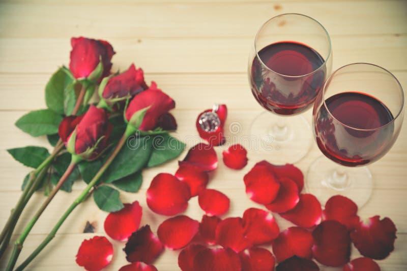 Ακόμα ζωή των γυαλιών κρασιού στοκ εικόνες