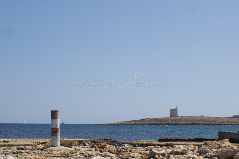 Ακόμα μια ήρεμη άποψη της Μάλτας στοκ φωτογραφίες με δικαίωμα ελεύθερης χρήσης