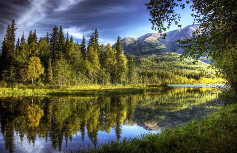 Ακόμα ύδατα το φθινόπωρο στοκ φωτογραφία με δικαίωμα ελεύθερης χρήσης