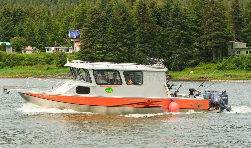 Αλάσκα - αλιευτικό σκάφος Auke Bay Juneau 3 στοκ εικόνα με δικαίωμα ελεύθερης χρήσης