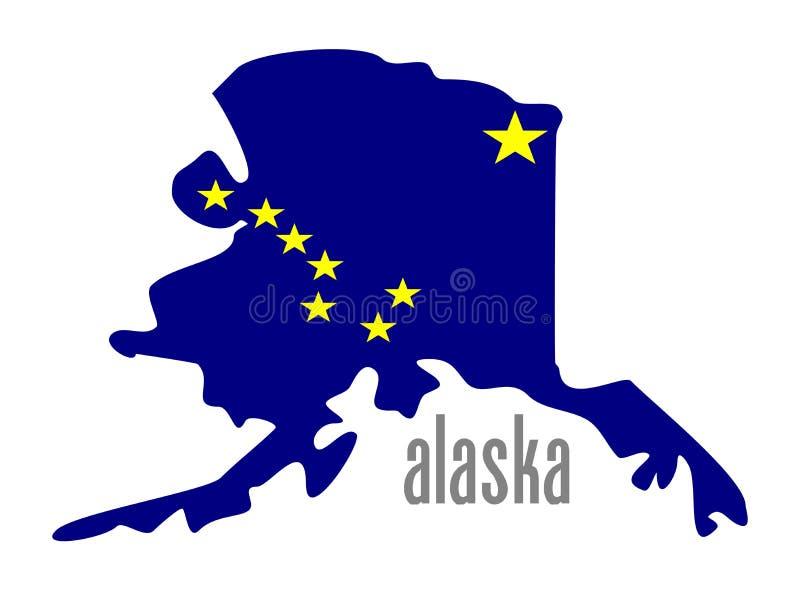 Αλάσκα διανυσματική απεικόνιση