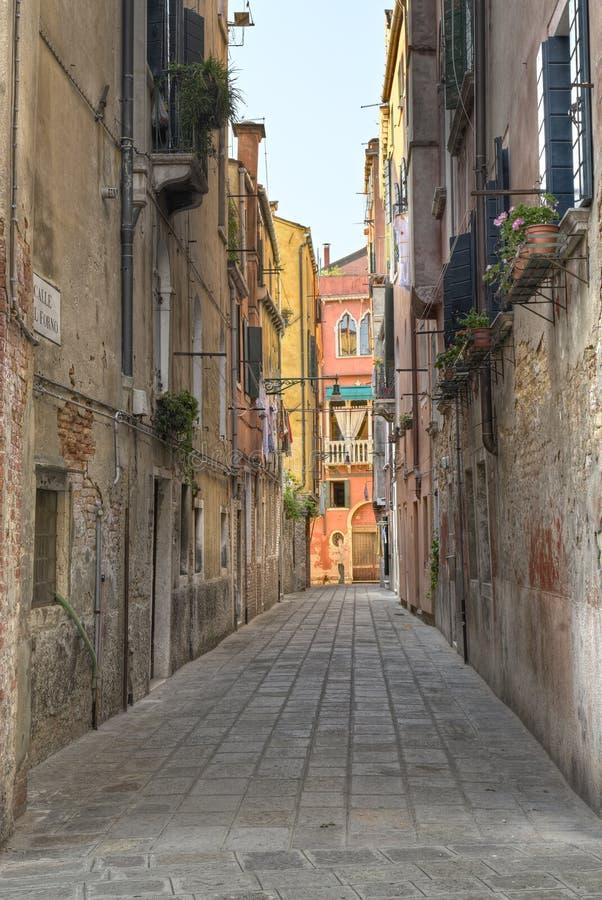 αλέα Βενετία στοκ φωτογραφία