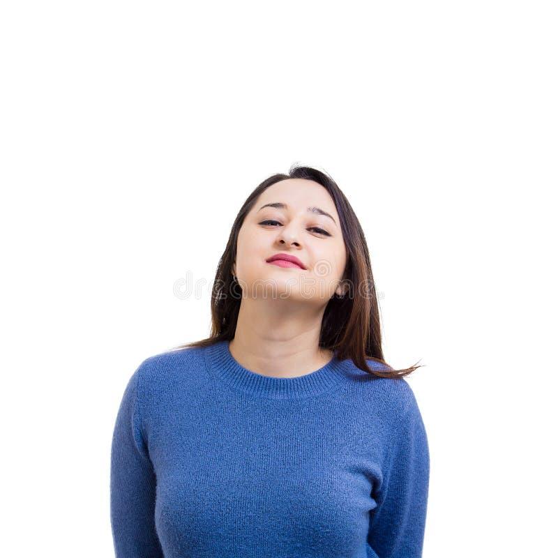 Αλαζονική γυναίκα στοκ φωτογραφίες με δικαίωμα ελεύθερης χρήσης