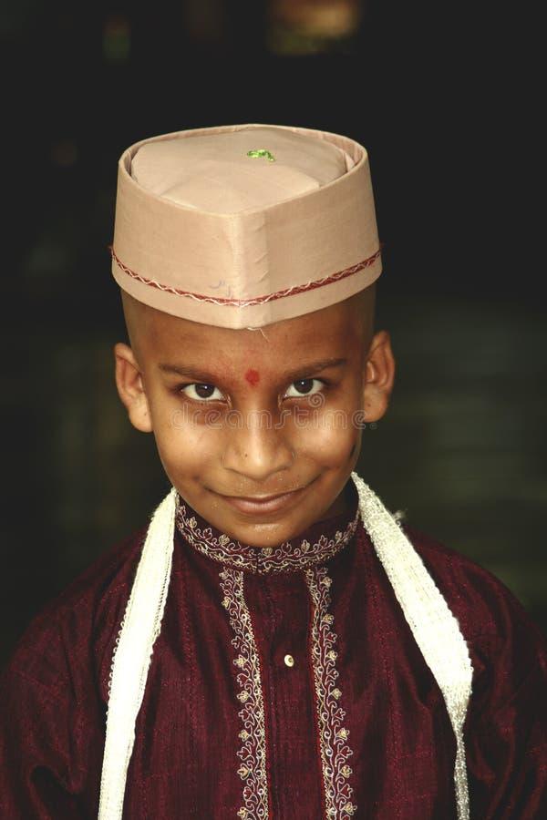 αλαζονικό χωριό αγοριών στοκ εικόνα με δικαίωμα ελεύθερης χρήσης