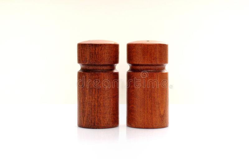 αλατισμένος ξύλινος πιπεριών στοκ εικόνα με δικαίωμα ελεύθερης χρήσης