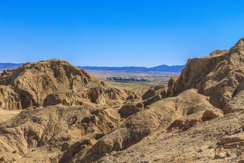 Αλατισμένο βουνό πετρών στοκ φωτογραφία