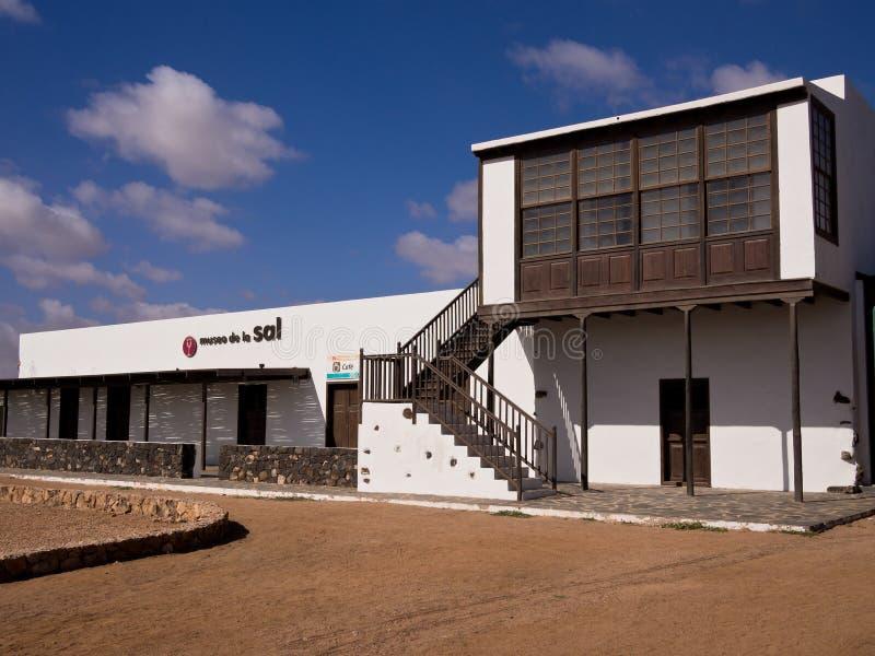 Αλατισμένο μουσείο σε Fuerteventura, Κανάρια νησιά στοκ εικόνες