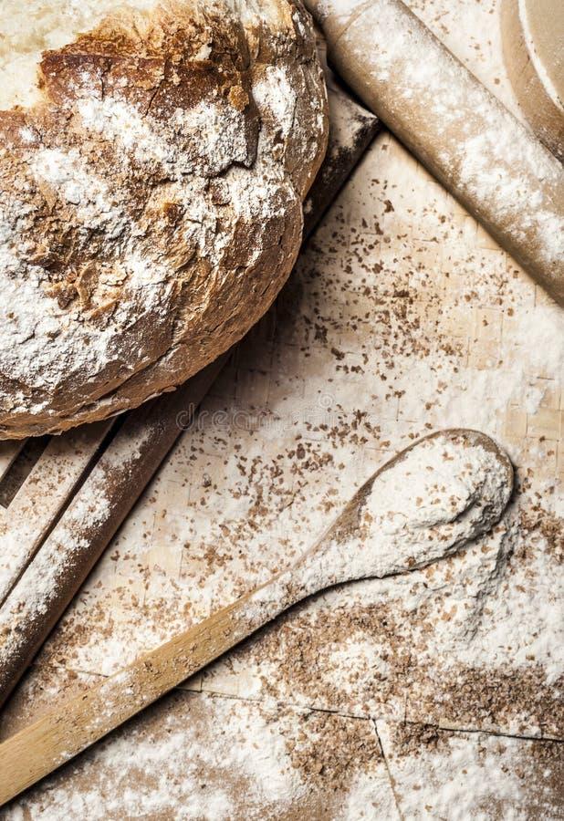 αλεύρι ψωμιού στοκ φωτογραφία με δικαίωμα ελεύθερης χρήσης